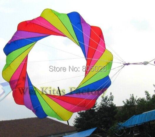 უფასო გადაზიდვა მაღალი ხარისხის 2m Kite windsocks რბილი Kite გარე სათამაშოები power kite wei wei kite ქარხანა ნეილონის ripstop ბეჭდვითი kitesurfing