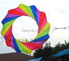 free shipping high quality 2m kite windsocks soft Kite outdoor toys power kite wei kite factory nylon ripstop print kitesurfing