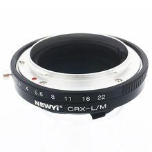 NEWYI Contarex CRX obiektyw do Leica M LM M4 M5 M6 M7 M8 M9 MP Techart LM EA7 kamera z adapterem konwerter obiektywu pierścień pośredniczący