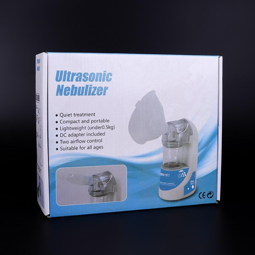 Asthma Inhalator Mini Atomiseur Für Kinder Erwachsene Inhalieren Vernebler Ultraschall Vernebler Spray Aromatherapie Dampfer Gesundheit Pflege