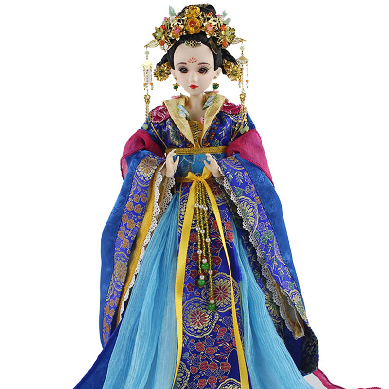 Oriental Dolls Limited Edition Collection High-end Collectible BJD Chinese Doll tang dynasty shangguan wan er 12jointed doll 31cm high end handmade chinese costume dolls limited collection bjd 1 6 moveable