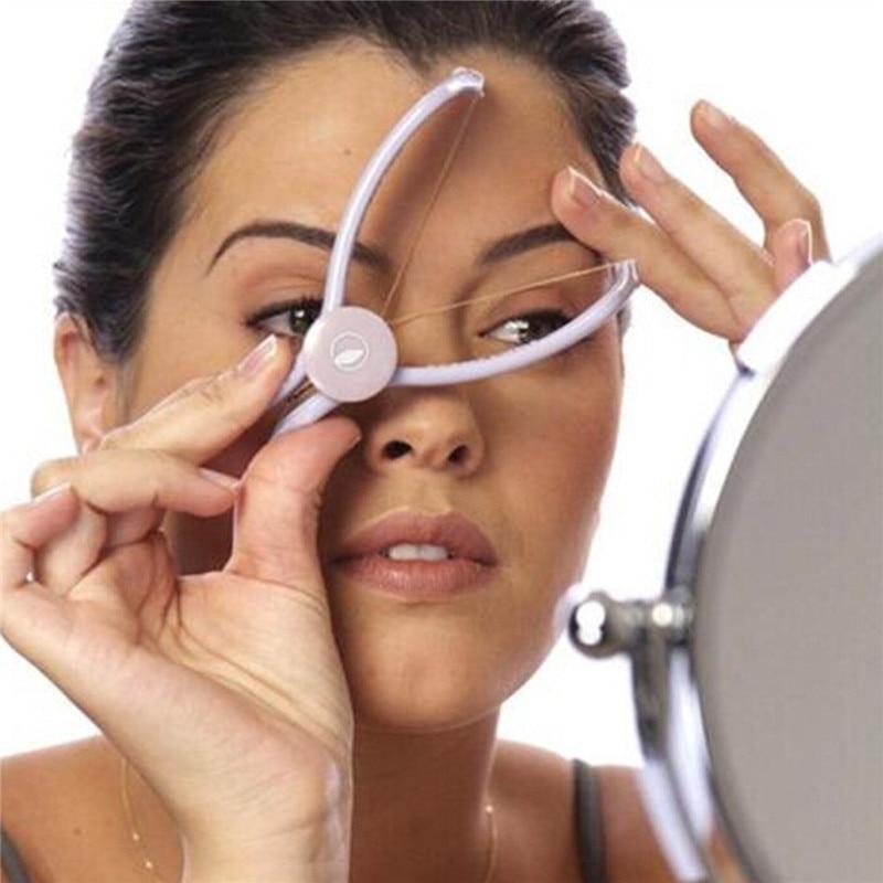 Women Plastic Cotton Modern Facial Body Hair Removal Threading Threader Epilator System Slique Design Female Epilator Tools