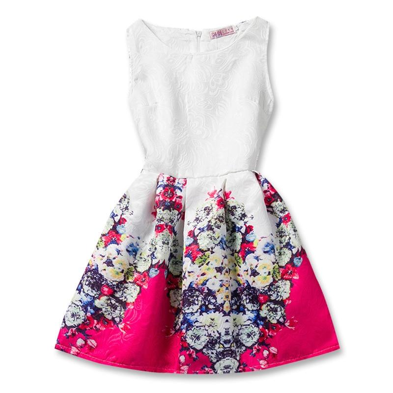 Kids Girls Dresses Butterfly Sleeveless Princess Dresses for Kids Clothes Baby Girl Tutu Dress Fashion Kids Clothing Vestidos 3