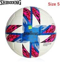 High Quality Pu Football Ball Size 5 Champions League Goal Team Match Training Balls Seamless Slip Resistant Soccer Ball