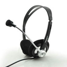 Headset laptop headset with microphone K song game Desktop holes comfortable headset KM-360 Free shipping