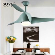 ФОТО LED Modern White 95-265v 30w power DC Ceiling Fans With Lights Remote Control Bedroom Home Fan Lamp ventilador de teto prestigi