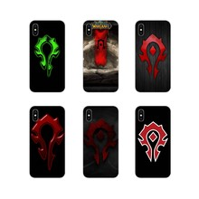 Mobile Phone Case Cover Permainan WOW World Of Warcraft Horde untuk Samsung A10 A30 A40 A50 A60 A70 Galaxy S2 catatan 2 3 Grand Core Prime(China)