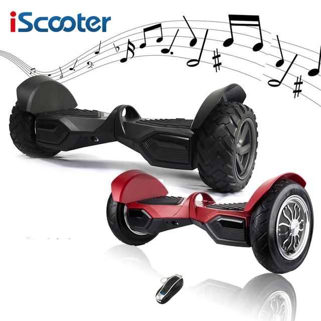 UL2722 iScooter hoverboard bluetooth 10 дюймов и 9 дюймов электрический скутер 2 колеса разумный scooeter с дистанционным скейтборд, роликовые