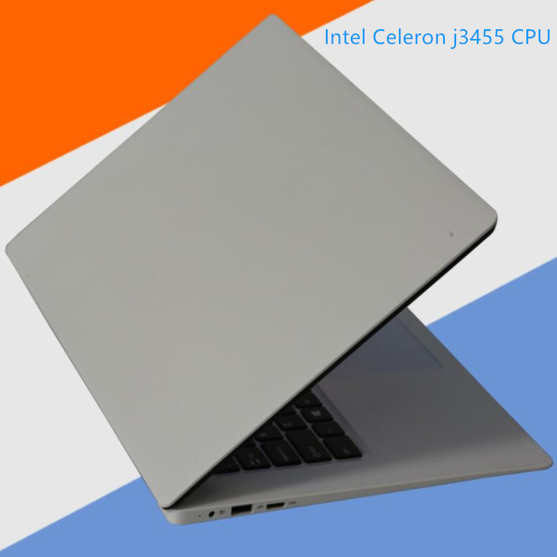 8GB RAM+60GB SSD Notebook laptops 15.61920X1080P Intel Celeron J3455 Quad Core Windows10 USB 3.0 on for SALE HD Graphics image