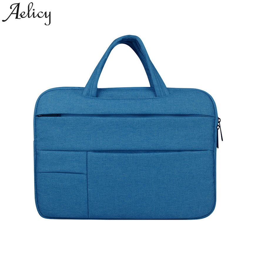 Aelicy Canvas Laptop Bags Unisex Notebook Case Large Capacity Handbag Teenager Computer Bags Messager Bag S23 new 3u ultra short computer case 380mm large panel big power supply ultra short 3u computer case server computer case