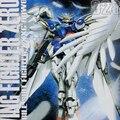 Figura de Acción del Robot Montado Gundam 1:100 Fly Wing Zero Soldados 028 Modelo de Construcción