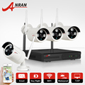 1TB HDD CCTV System 4CH H.264 Wireless NVR Security Video Recorder P2P 1.0MP Outdoor IR WIFI IP Camera 720P Surveillance Camera