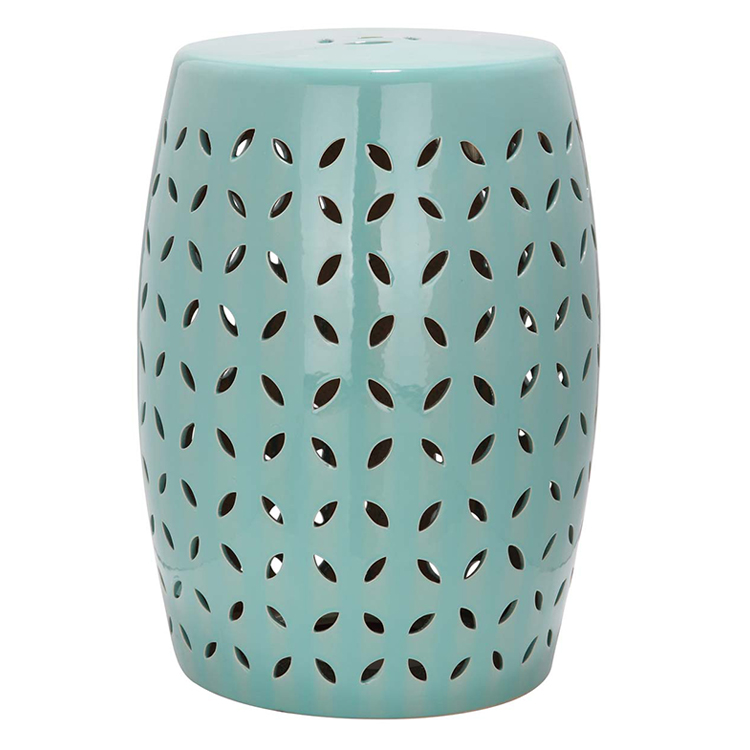 Marvelous Green Color Jingdezhen Antique Home Drum Porcelain Garden Stool High  Temperatured Glazed Garden Ceramic Stools
