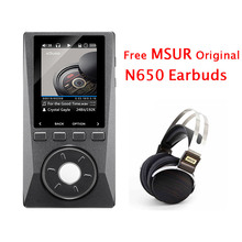 2016 XDUOO X10 Portable HD HIFI DSD Music Audio Player 192KHz/24bit DAP Support Optical Output MP3 Player with MSUR N650 Headset