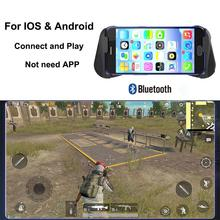 DSstyles Bluetooth 4.0 Phone Gamepad PUBG Controller Mobile Triggers Joystick Wireless Joypad for IPhone XS Android Tablet
