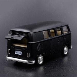 Image 4 - 1:36 V ואן למשוך בחזרה מכוניות צעצוע מודל קלאסי גבוהה רטרו הסימולציה צעצועי רכב לילדים