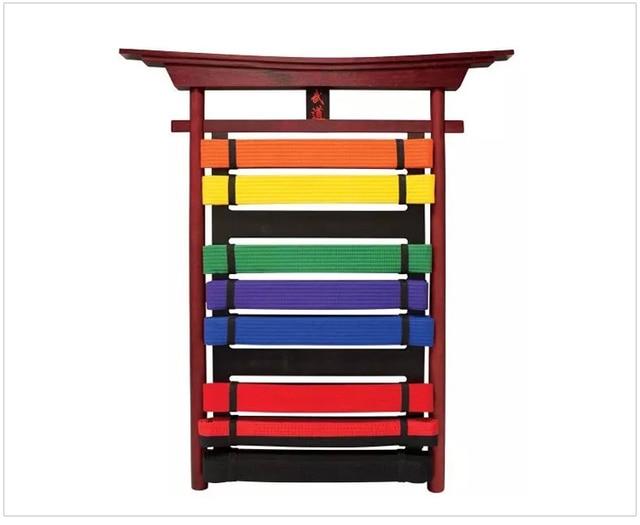 New Taekwondo Karate MMA Martial Arts Belt Display Rack ...