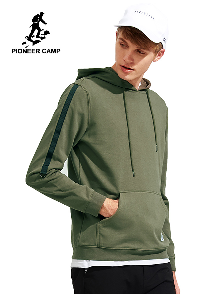 Pioneer Camp hoodies men sweatshirt brand clothing male tracksuit AWY702292