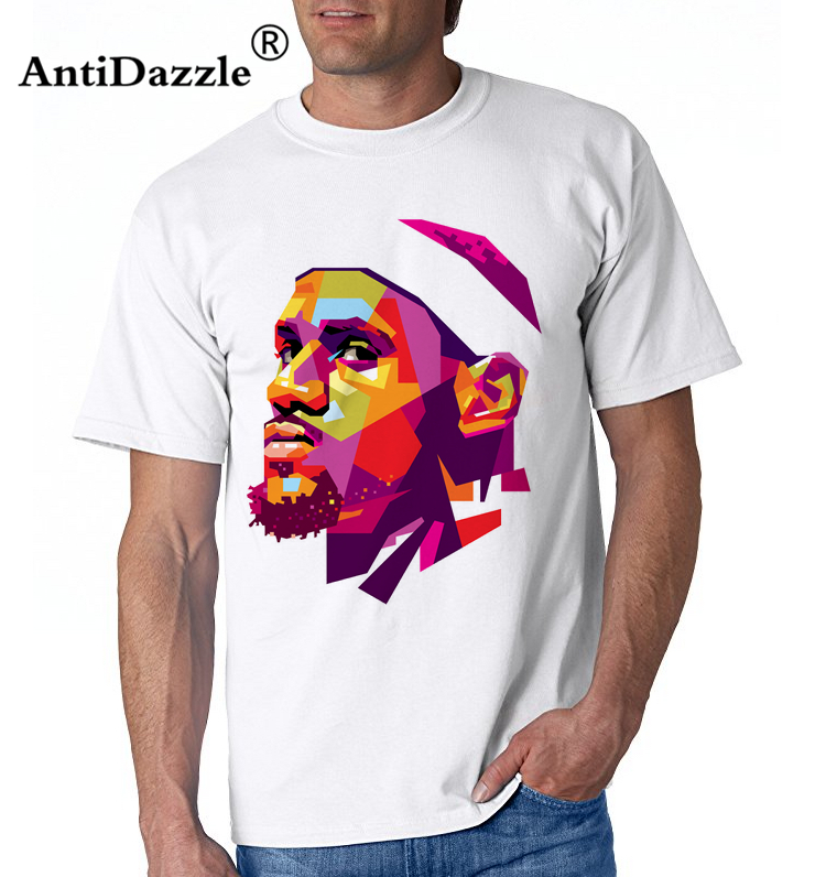 big sale 5b3b0 194a7 US $6.0 25% OFF|Antidazzle t shirt This Is For You King Lebron James Jersey  23 Cleveland Sportser Basketballer Adult T Shirt Tee james t shirt-in ...