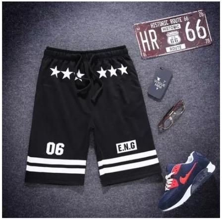 NEW 2020 Summer Sport Jogging Men's Casual Thin Street Sweatpants Boy Loose Mens Beach Hip Hop Elastic Black Shorts Bottom