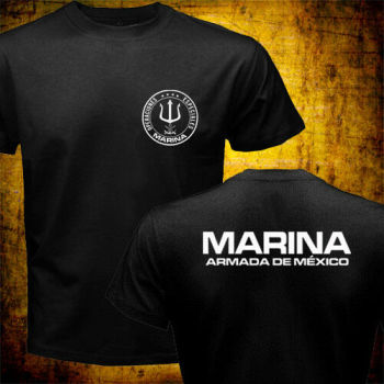 2019 Fashion Double Side New Mexico Navy Marina Special Operations Forces Operaciones Especiales T-Shirt Unisex Tee image