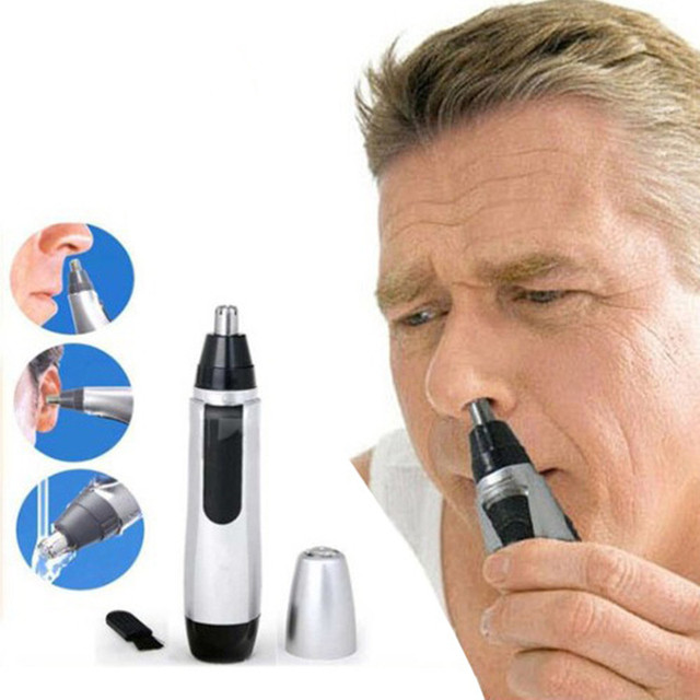 1pc Electric Ear Nose Hair Trimmer Ear Face Neat Clean Trimer Razor
