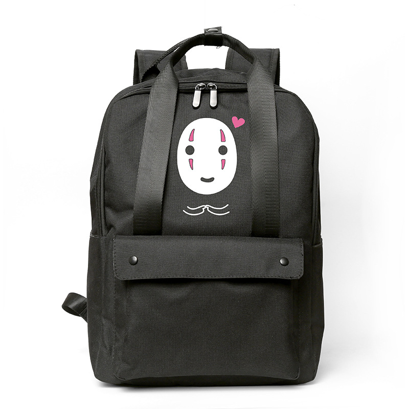 Anime Spirited Away Cosplay Cloth Shoulder Bag Backpack Bags For School Purse Gifts