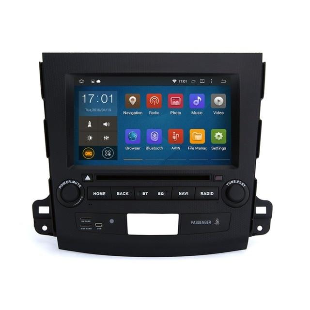 """8 """"Quad Core 1024x600 Android 5.1.1 Автомобильный DVD для Mitsubishi Outlander 2006-2012 BT 3 Г Wi-Fi RDS Зеркало Ссылка с 8 Г карта карты"""
