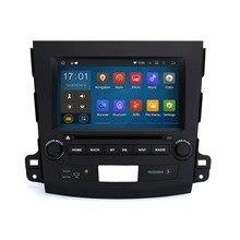 """8 """"Quad Core 1024×600 Android 5.1.1 DVD Del Coche para Mitsubishi Outlander 2006-2012 BT 3G Wifi RDS Enlace Espejo con 8G mapa tarjeta"""