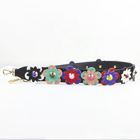 Lady Handle Hot Fashion Shoulder Strap Accessories Flower Crossbody Strap Replacement Strap Bag Strap Handbag Strap