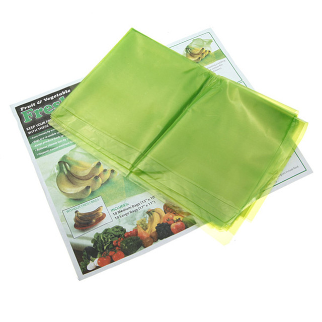 20PCS Kitchen Storage Food Vegetable Fruit and Produce Green fresh Bags Reusable Life  sc 1 st  AliExpress.com : produce storage bags  - Aquiesqueretaro.Com