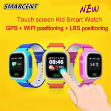 Q90 Kids Smart Watch GPS Tracker Touch Screen WIFI Baby Smart Watch Phone SOS Call Positioning Location Anti Lost Monitor Clock