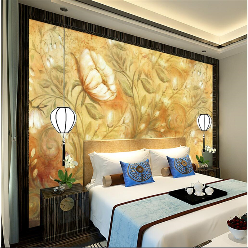 beibehang Custom 3d photo wall mural European style wall European pattern Nordic decorative painting living room papel de pared