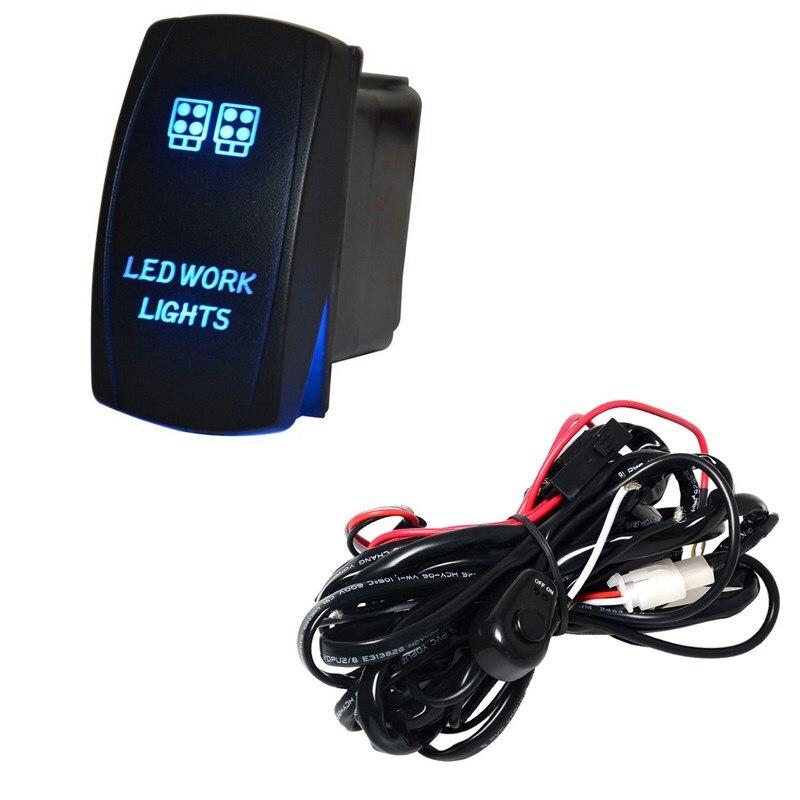 Superb Ee Support 40A 300W Wiring Harness Kit Led Light Bar Laser Rocker Wiring Cloud Funidienstapotheekhoekschewaardnl