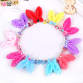 cute rabbit ears Plush children hair Korean girls baby duck clip top clip clip  Hair headdress