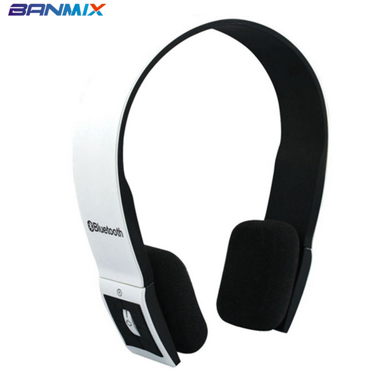 BANMIX Bluetooth Earphones Stereo Headset Auriculares Bluetooth Audifonos Wireless Headphones Fone With MIC for iPhone/Android
