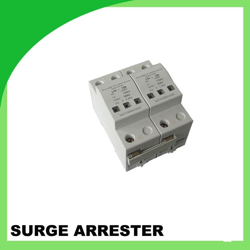 ФОТО Ly6-120 420V 120ka 2pole Surge Arrester Surge Protector Power Strip