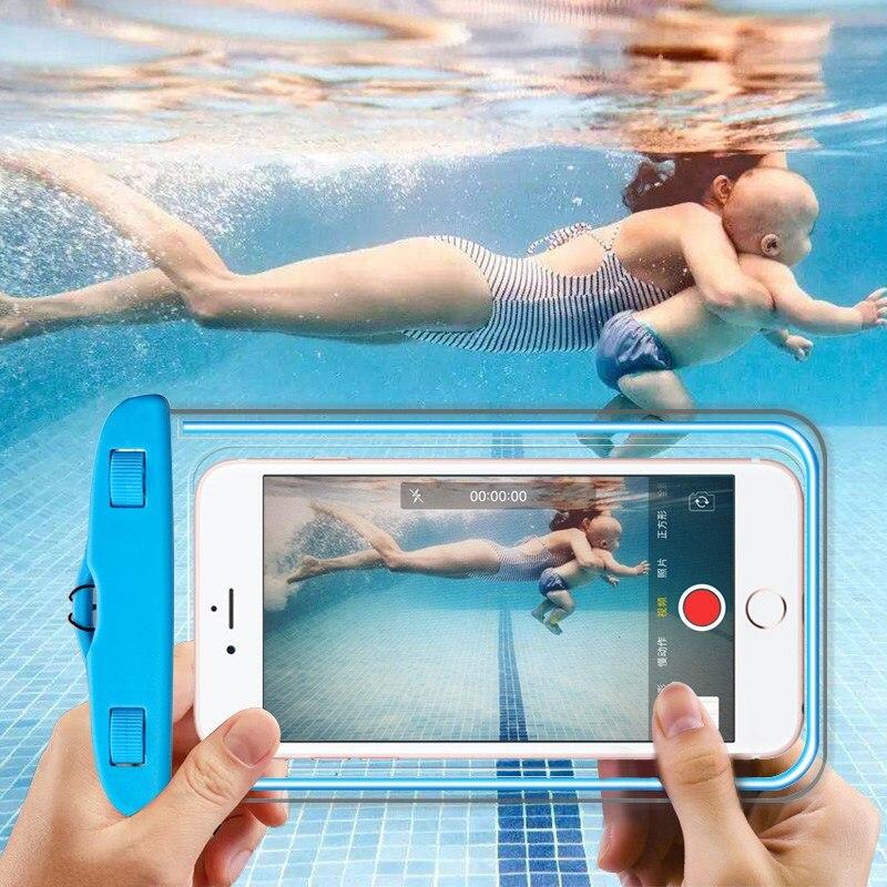 brand new eda3f dc1fe US $2.99 30% OFF|Waterproof Case for Xiaomi Redmi 4X Case Phone Bag Pvc  Silicon Pouch Cover Note 4X 5 Pro 5A for Xiaomi Redmi 5 Plus Case Mi A1 -in  ...