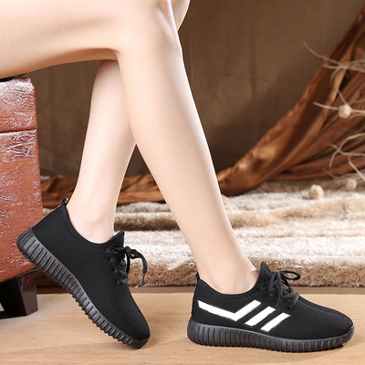 BAICLOTHING women fashion sport mesh shoes  cool lady flat shoes female leisure summer comfortable slip on shoes zapato de mujer baiclothing women casual pointed toe flat shoes lady cool spring pu leather flats female white office shoes sapatos femininos