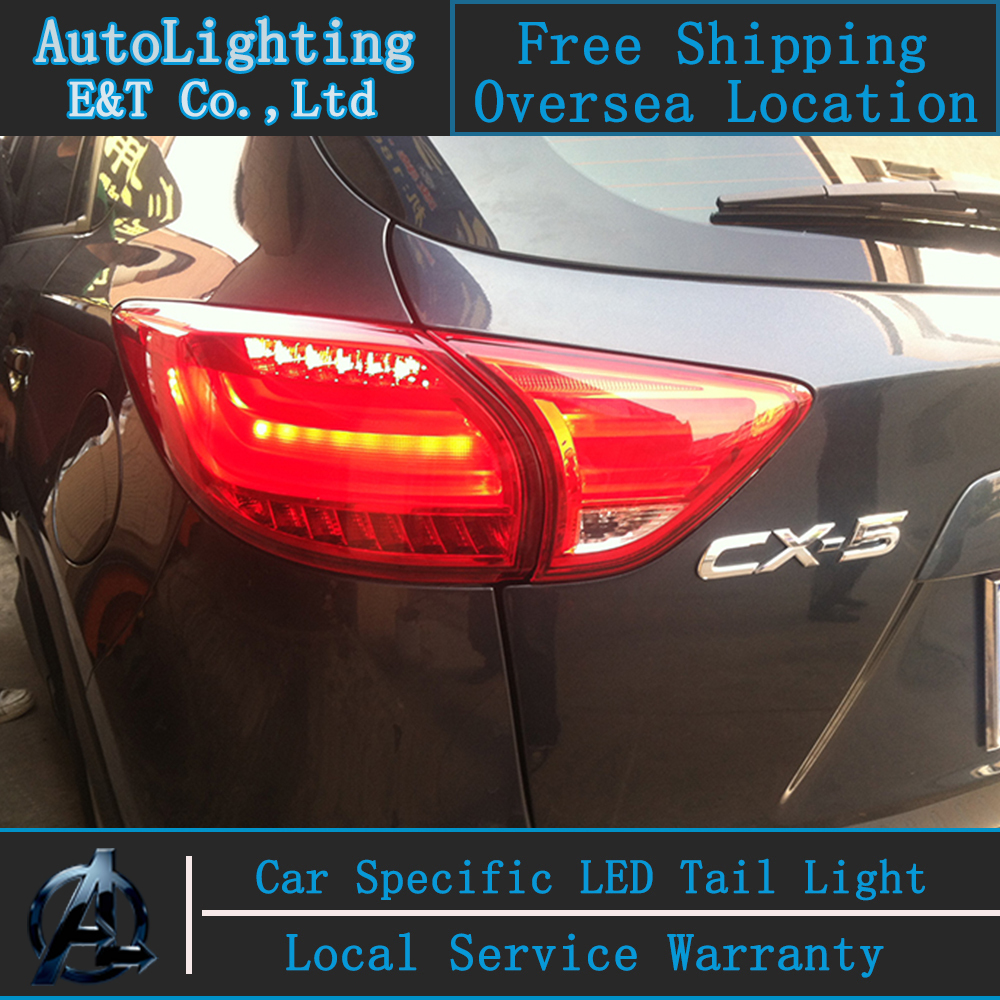 Car Styling New CX5 tail lights 2011-2014 for Mazda CX-5 LED Tail Lamp Atenza rear trunk lamp cover drl+signal+brake+reverse jgd brand new styling for nissan s15 tail lights 1999 2014 led tail light rear lamp led drl singal car lights