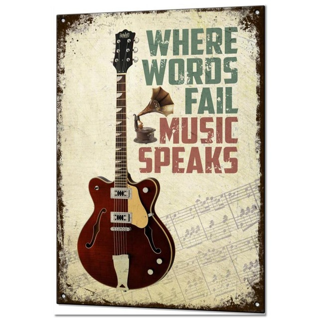 Custom Guitar Music Posters 10
