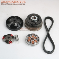 Scooter high quality Clutch Kit &Variator & 669 Belt for MOTORRO City Hooper Clea Cobi Desire Polly Tria 50cc 139QMB 4T 10 inch