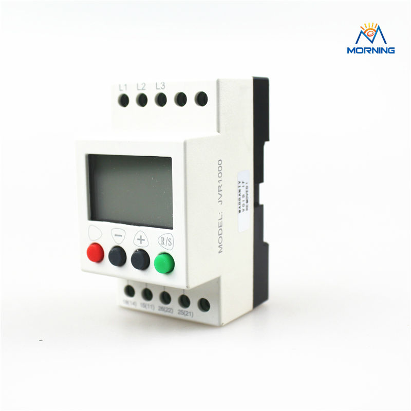 JVR1000 Multifunction 3-phase sequence protection relay with counting and timing