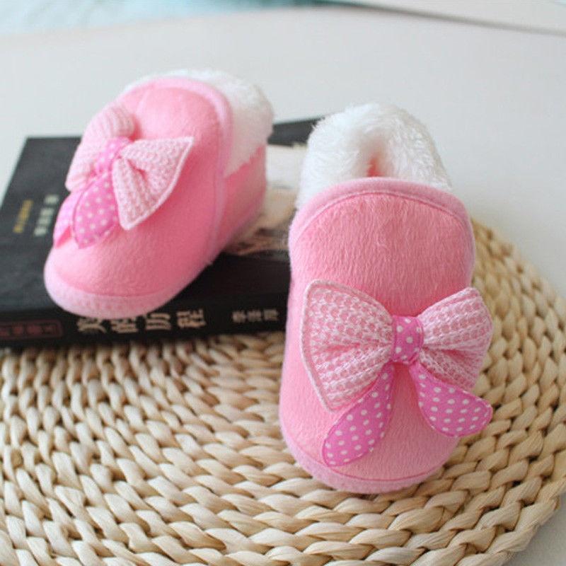 Baby Fur Warm First Walkers Newborn Baby Girl Boy Snow Boots Hot Sale Winter Soft Shoes 2017 New Bebes Infant Kids Warm Booties стоимость