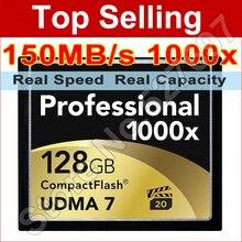 Free Shipping Wholesale 32GB 64GB 128GB CF Card UDMA Compact Flash Memory Card High Speed 1000x For Digital SLR Camera
