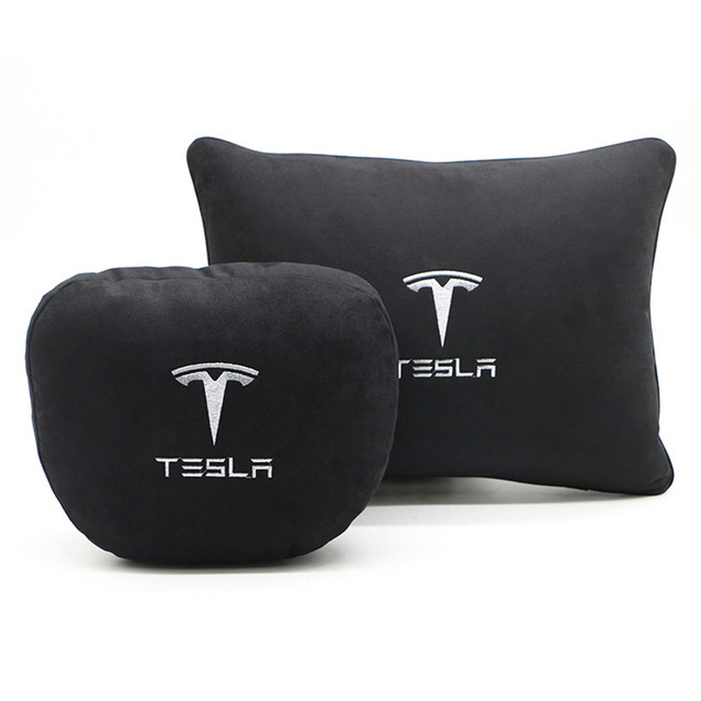 cheapest 2020 New Car Seat Headrest Breathable Neck Pillow Head Support Neck Travel Pillow Compatible for Tesla Model S Model X Model 3