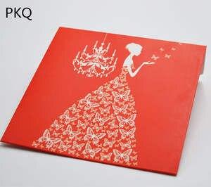 best red invitation envelopes list