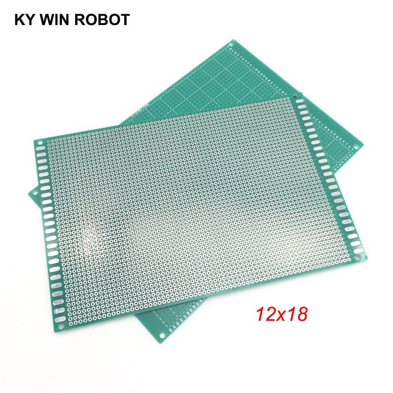 120x180mm sola cara placa de circuito impreso Universal Para Soldar 2 un.