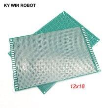 1pcs 12x18cm 120x180 mm Single Side Prototype PCB Universal Printed Circuit Board Protoboard For Arduino