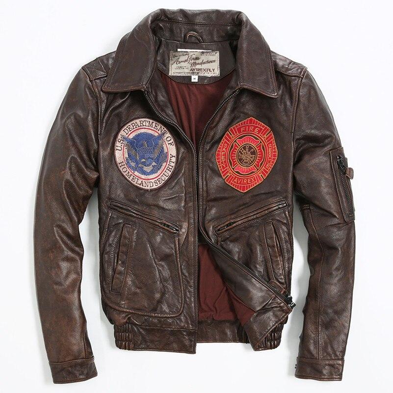 Popular Leather Flight Jacket-Buy Cheap Leather Flight Jacket lots